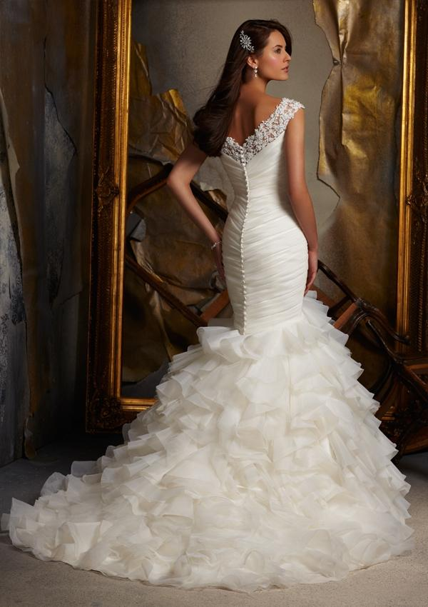 mermaid wedding dress trumpet wedding dress hayley